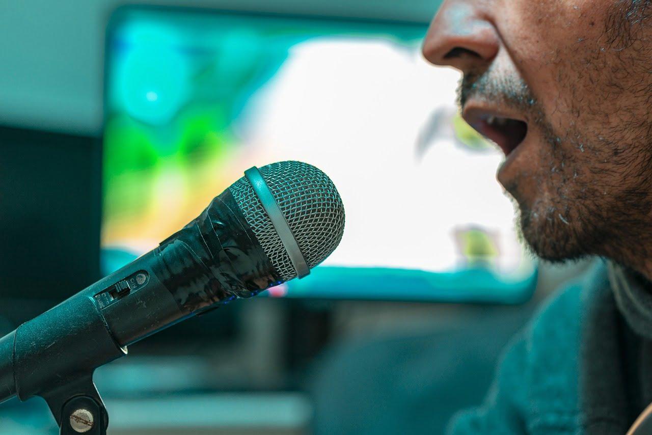 microphone, singing, music