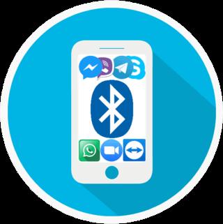 Bluetooh mobil hangrögzítés