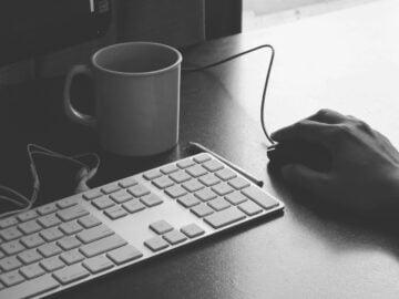 office, keyboard, job